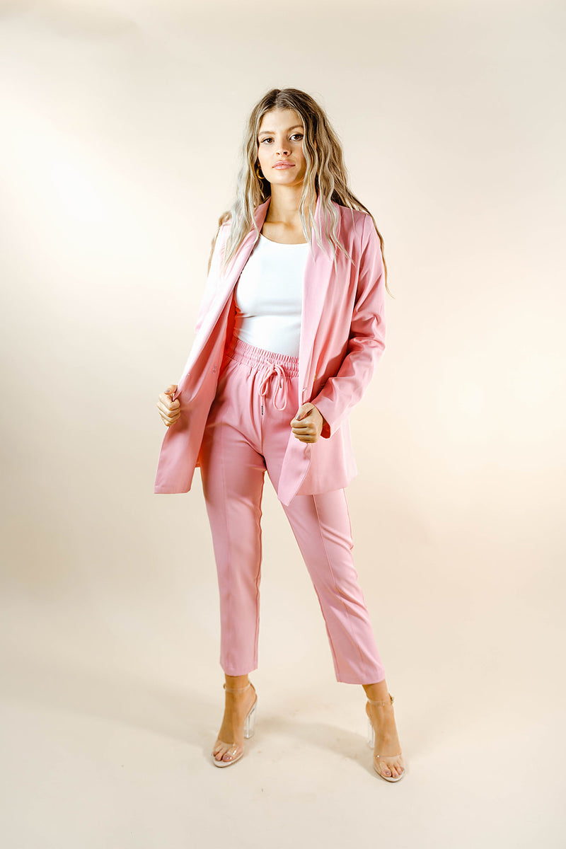 EYE CANDY PINK BLAZER