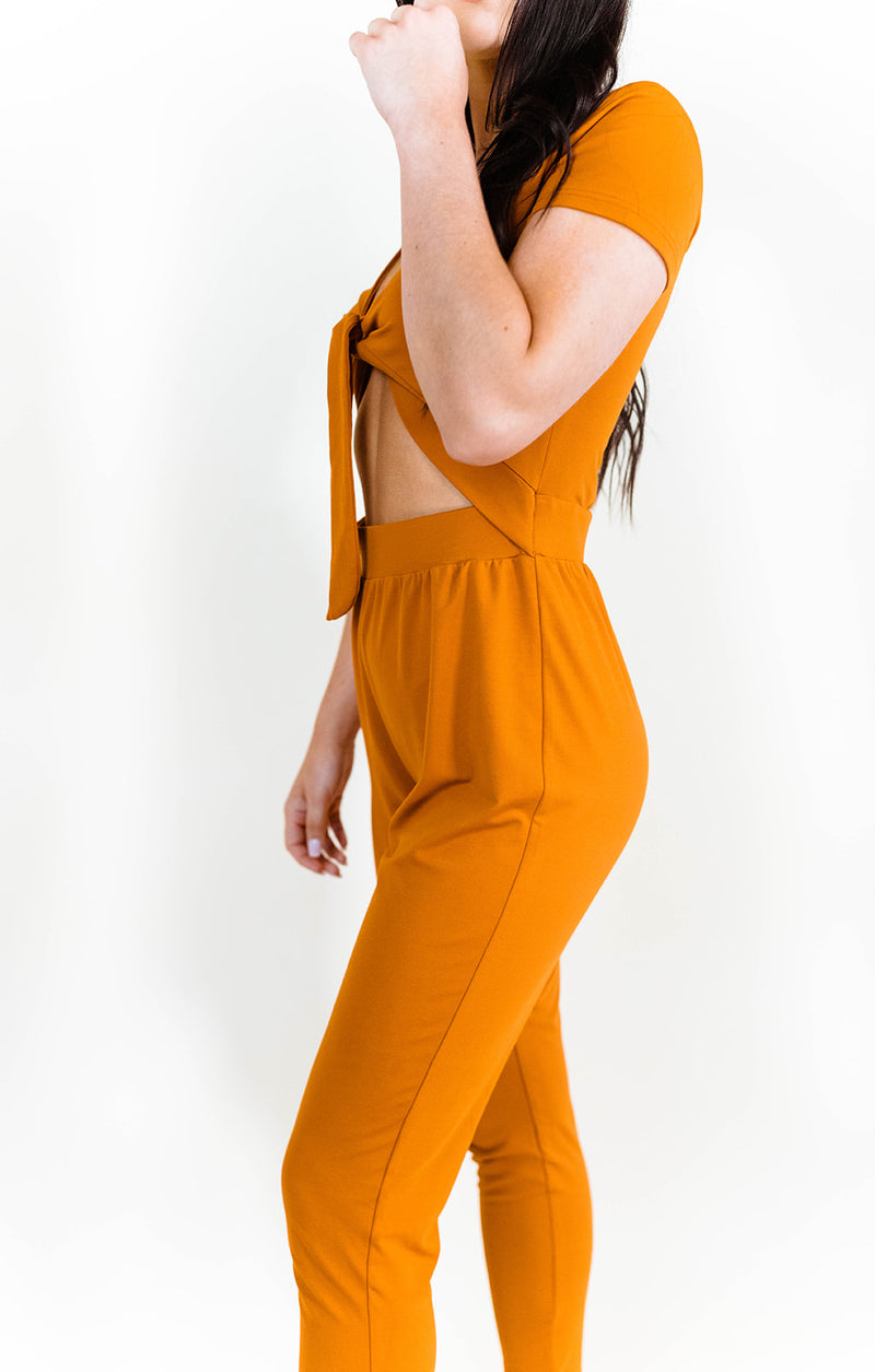 LETS GET KNOTTY JUMPSUIT