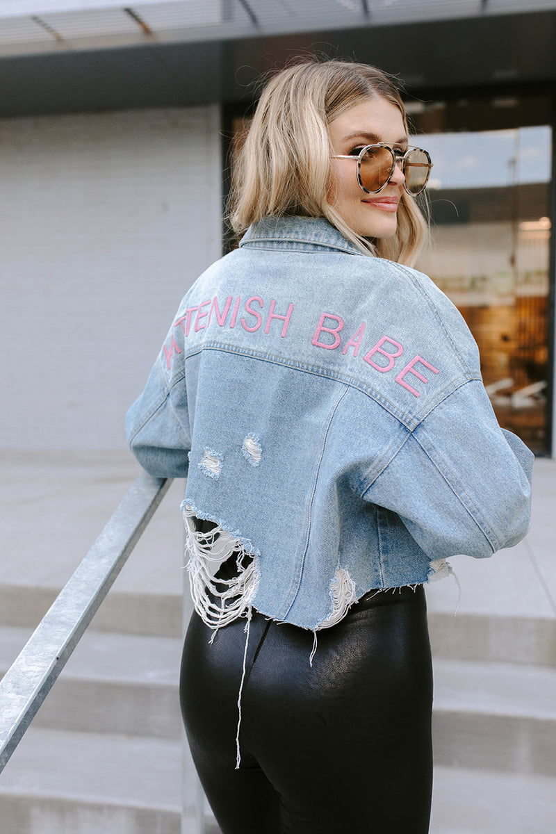 JESSIE CROPPED DENIM JACKET