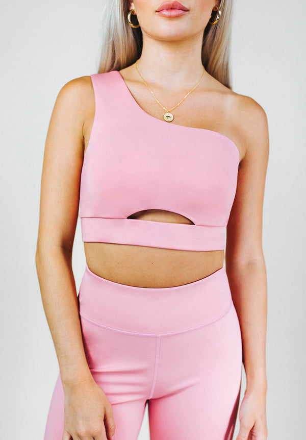 SADIE ONE SHOULDER CUTOUT BRA