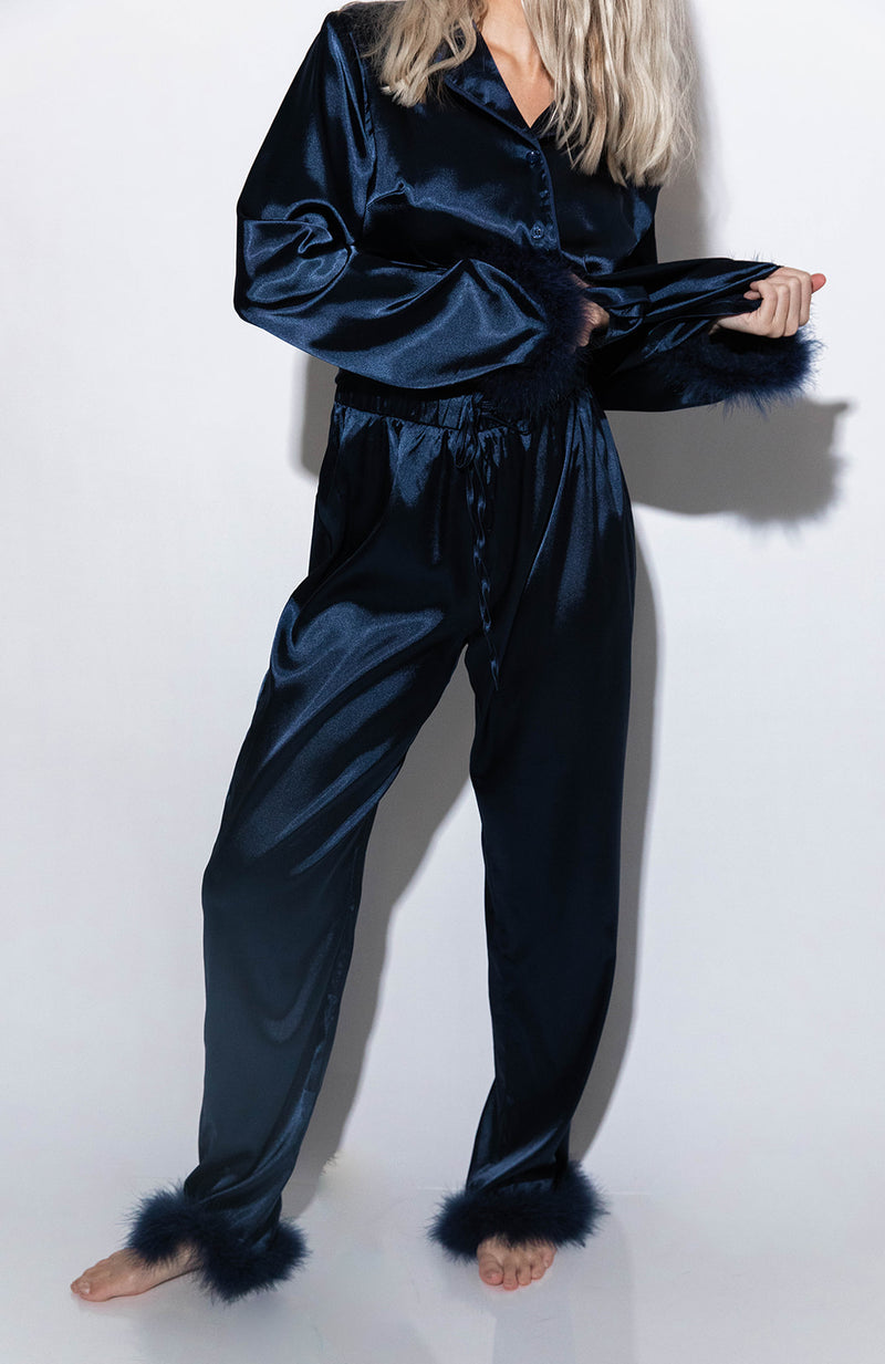 PARIS SILK PJ PANTS