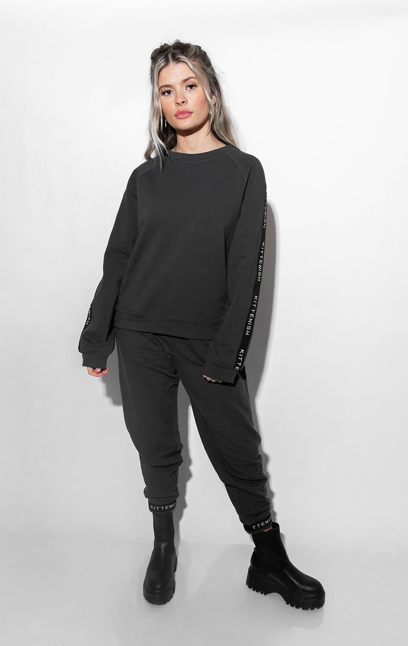 TAYLOR CHARCOAL LOUNGE TOP