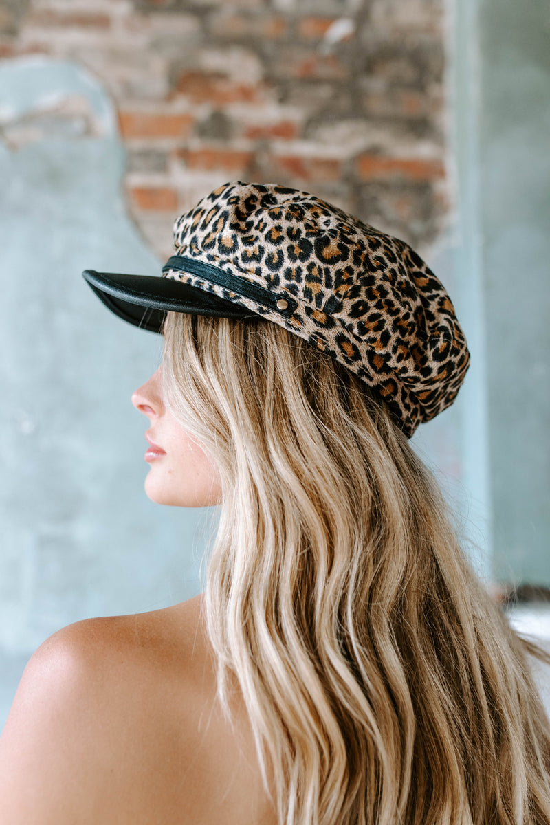 LEOPARD FISHERMAN HAT
