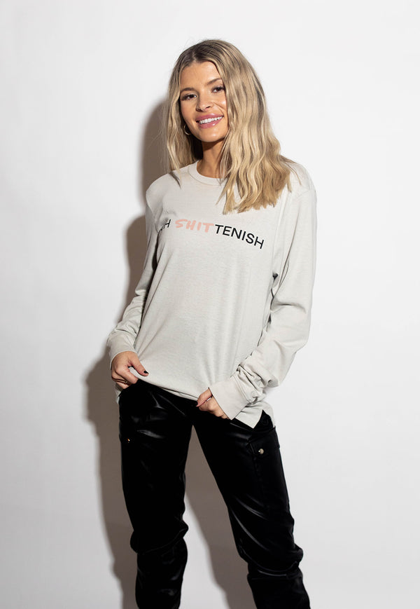 OH SHITTENISH LONG SLEEVE TEE