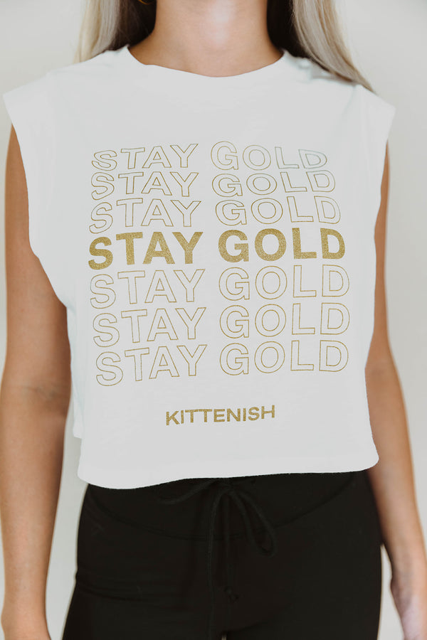 STAY GOLD TANK