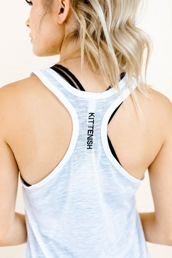 ABBY ACTIVE TANK IN WHITE