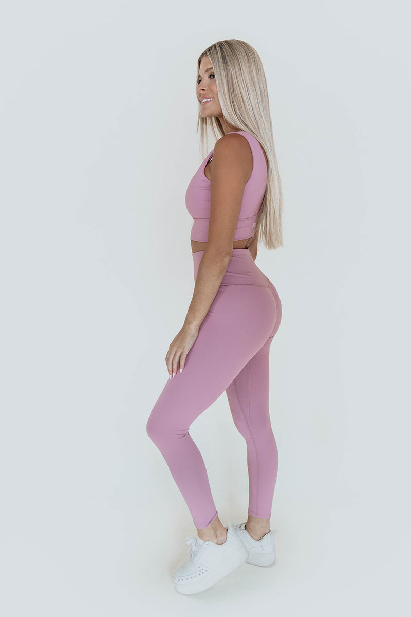 MARLOW LILAC ACTIVE LEGGINGS