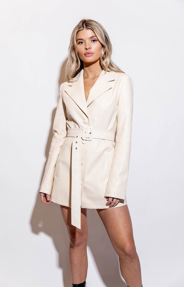 BUSINESS BABE BLAZER DRESS