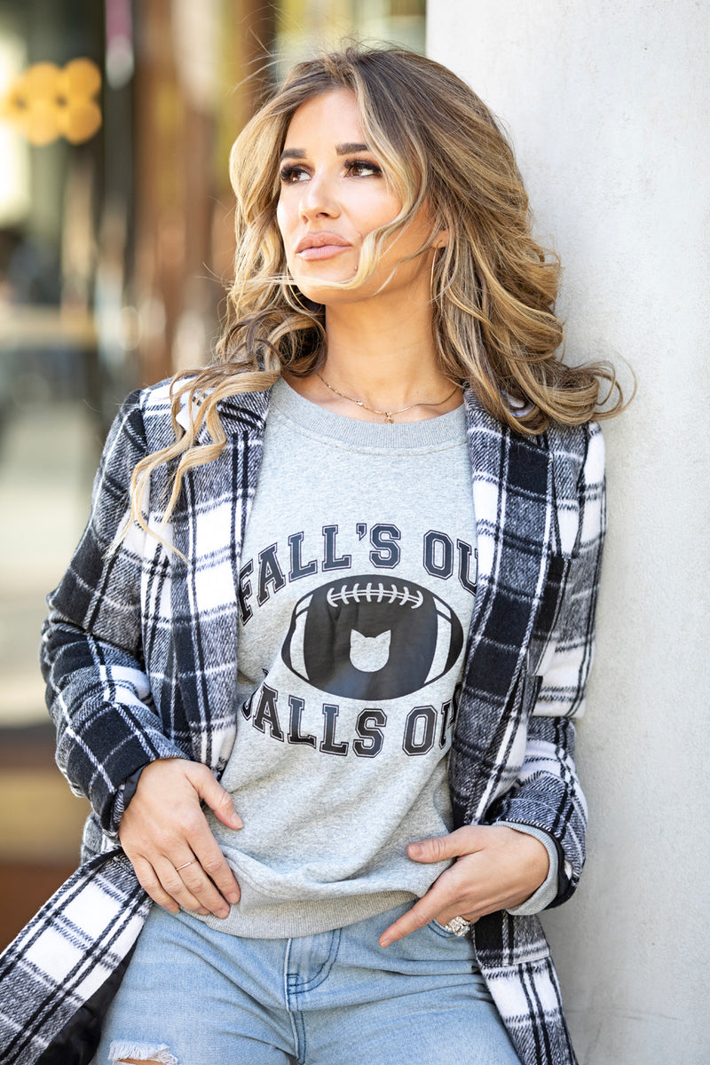 FALL'S OUT, BALLS OUT SWEATSHIRT