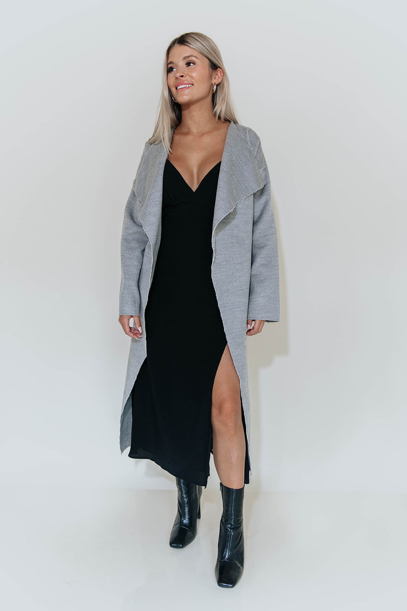 DAYDREAM BLACK MIDI DRESS