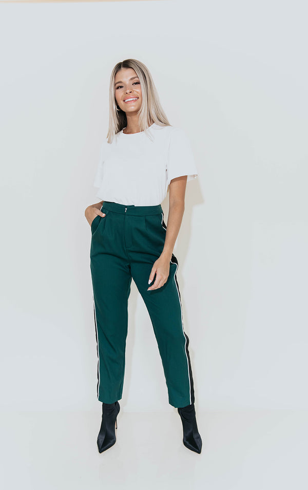 GRACE DEEP TEAL PANTS