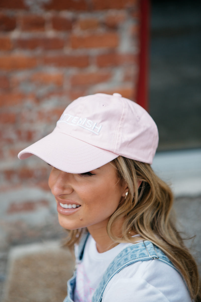 KITTENISH BALL CAP IN PINK