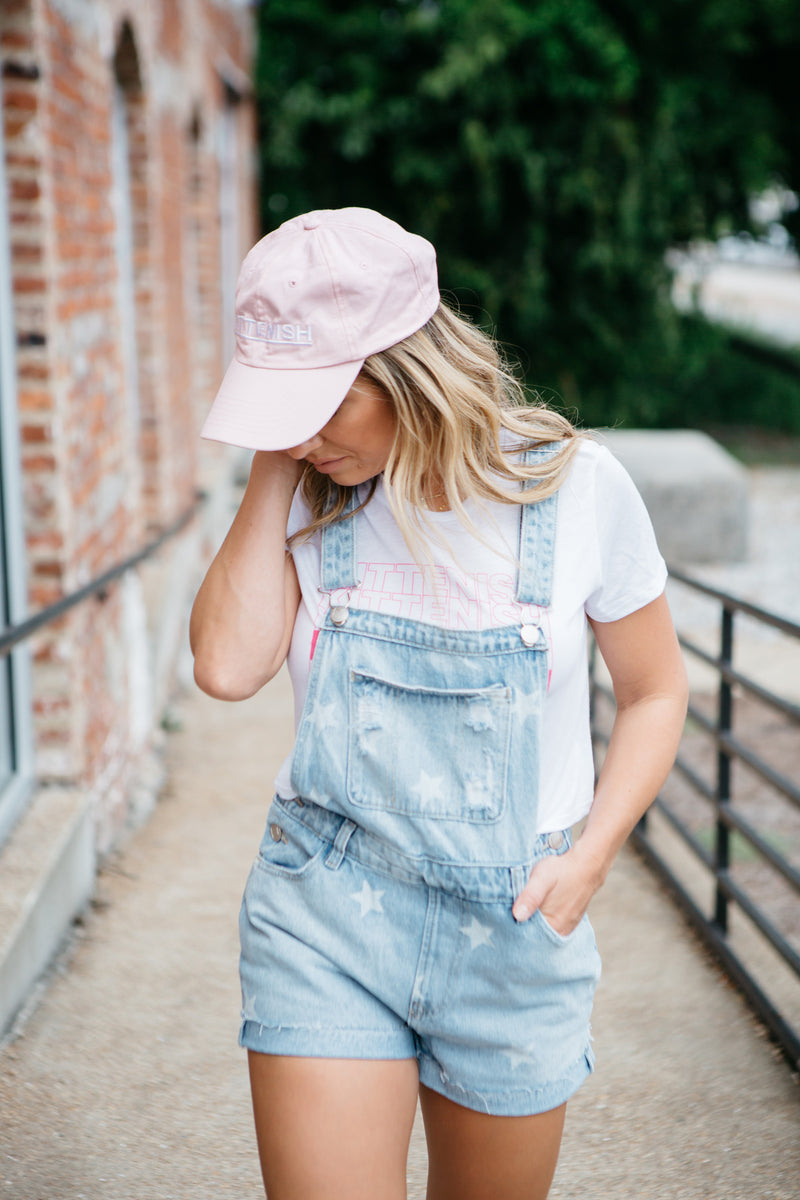 GRACIE STAR DENIM OVERALLS