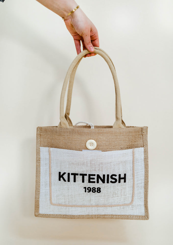 Kittenish 1988 Tote Bag