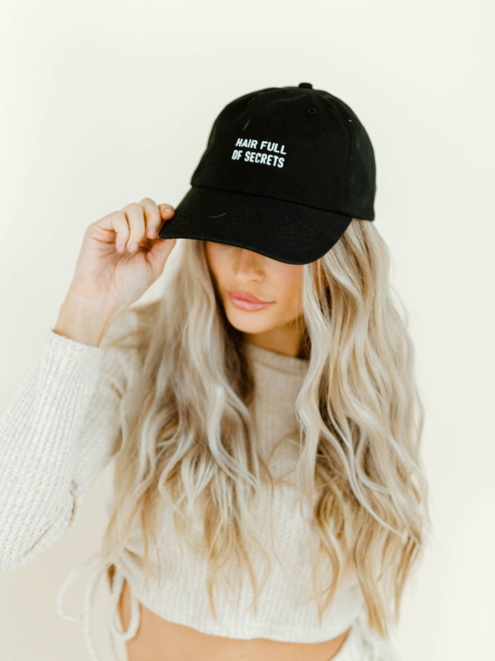 HAIR FULL OF SECRETS BALL CAP