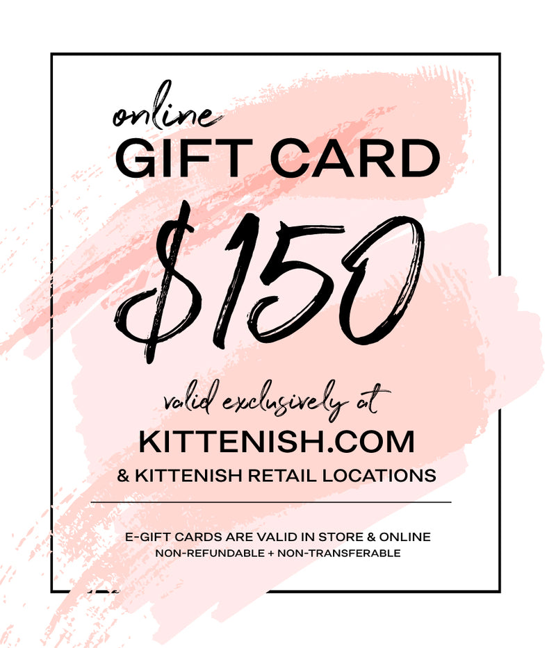 KITTENISH GIFTCARD