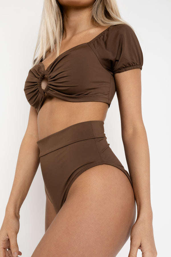 IBIZA CHOCOLATE BIKINI BOTTOMS
