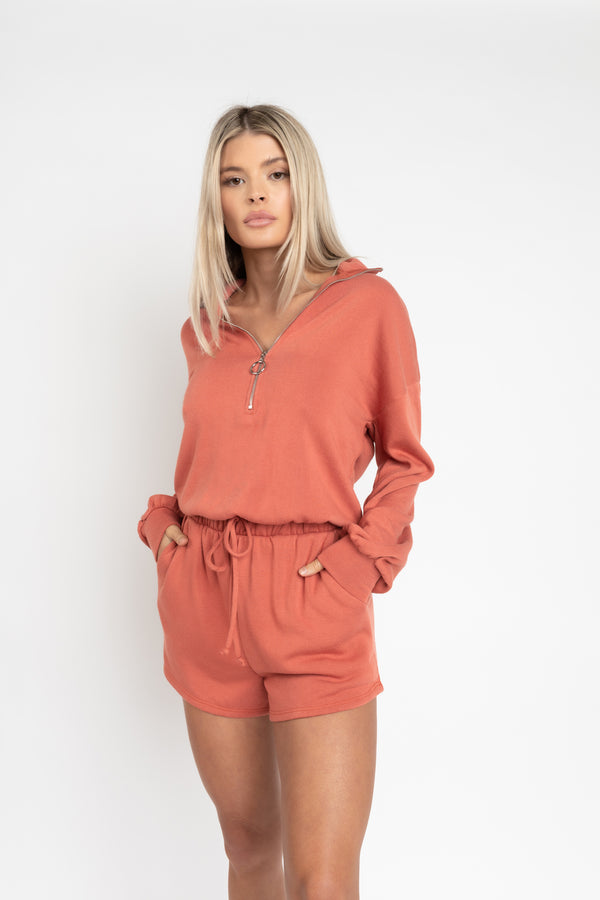 KEY WEST BRICK ROMPER