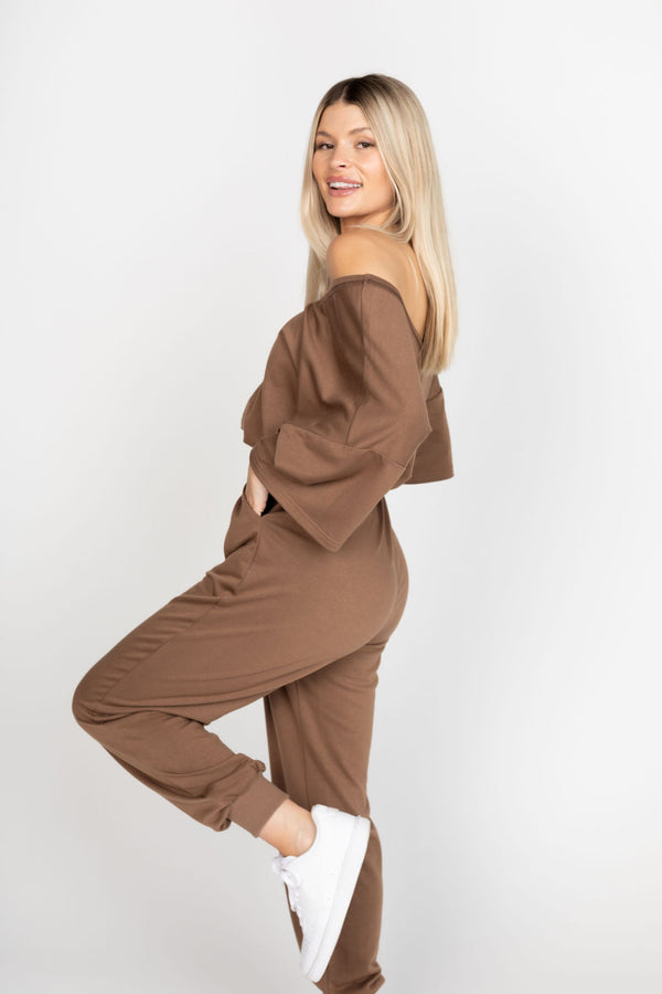 PALOMA CHOCOLATE JOGGERS