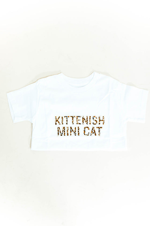 MINI CAT KIDS TEE
