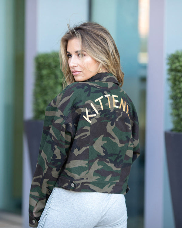 IN-DOORSEY GIRL CROPPED CAMO JACKET
