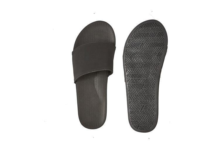 Indosole Womens Essntls Slides Black