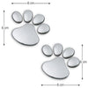 Image of Paw Print Car Decal