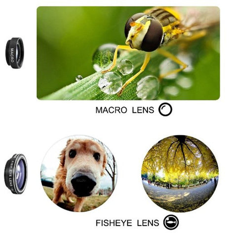 3-in-1 Phone Camera Lens Kit