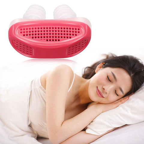 Anti-Snore Sleep Aid Device