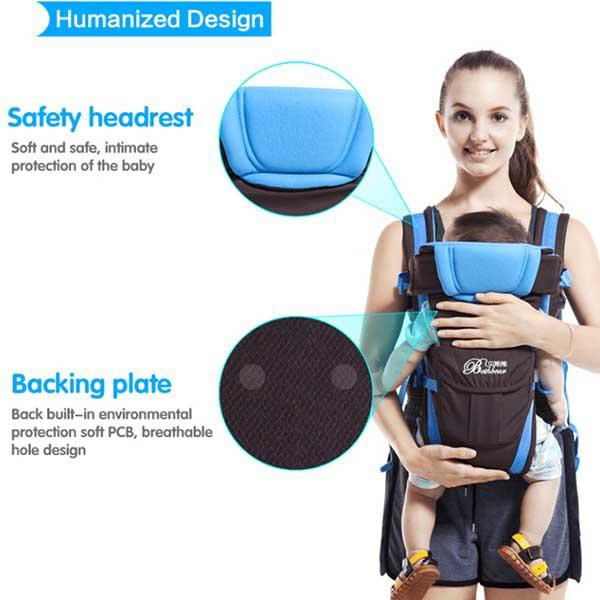 75053fb5c4a 4 in 1 Kangaroo Wrap Baby Carrier – Boom Boom Gadgets