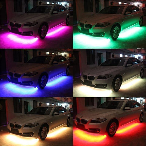 Car LED Glow Underbody System