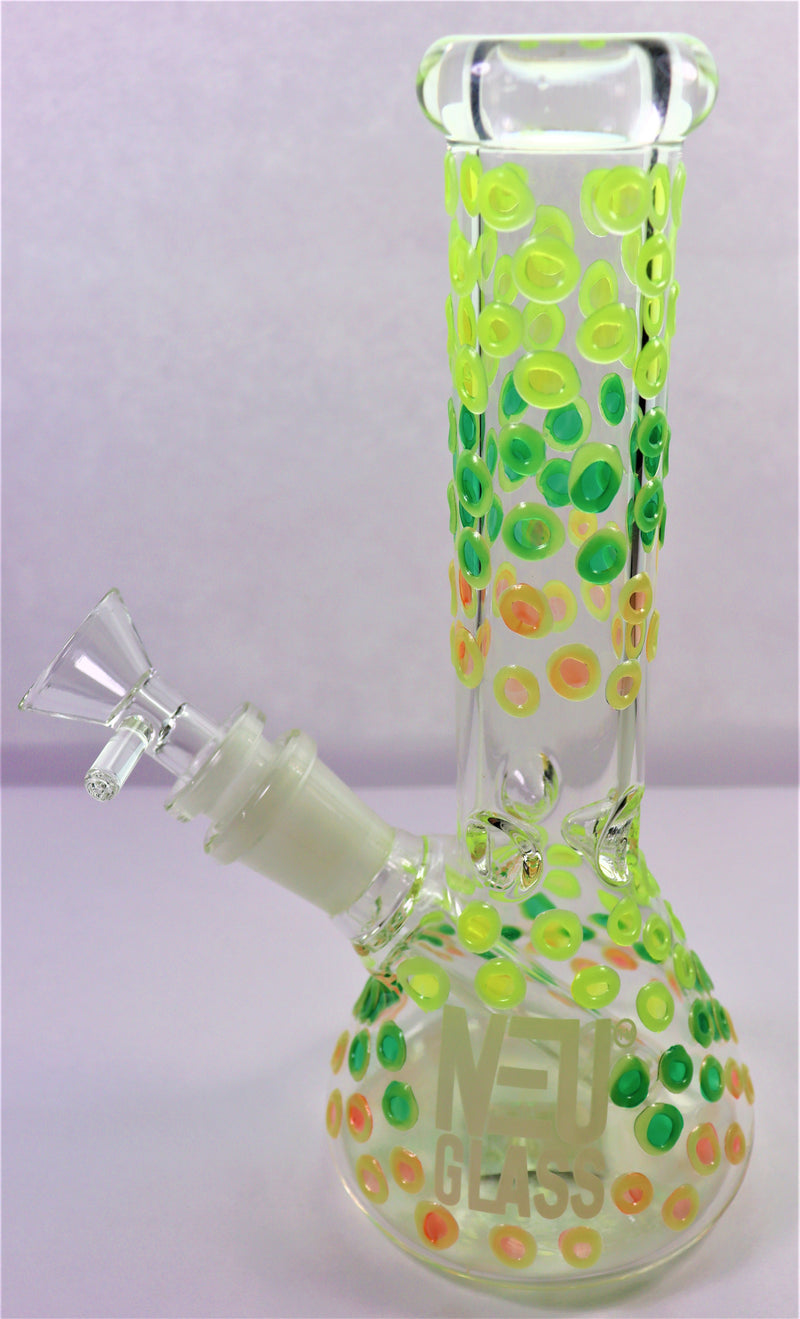 NEU Water Pipe - Glow-in-the-Dark Bubble Beaker - AZARA VAPE