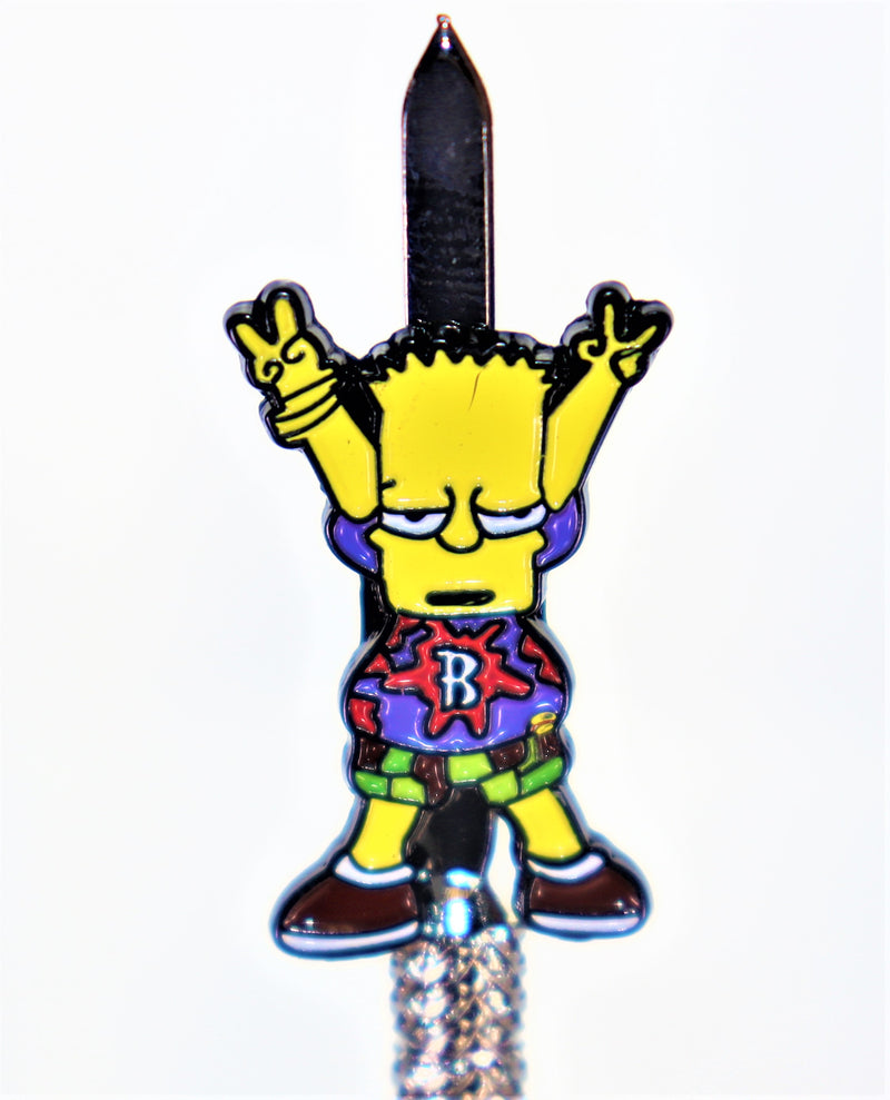 Pop Culture Dab Tool - Bart Dab-son - AZARA VAPE