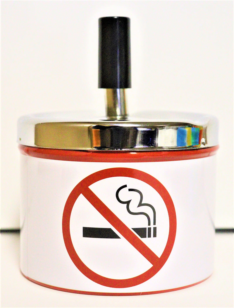 Spin Dump Ashtray - No Smoking - AZARA VAPE