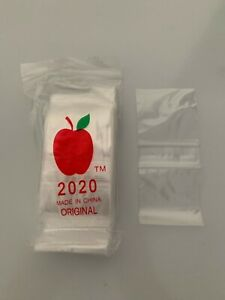 Apple Baggies #2020 - clear