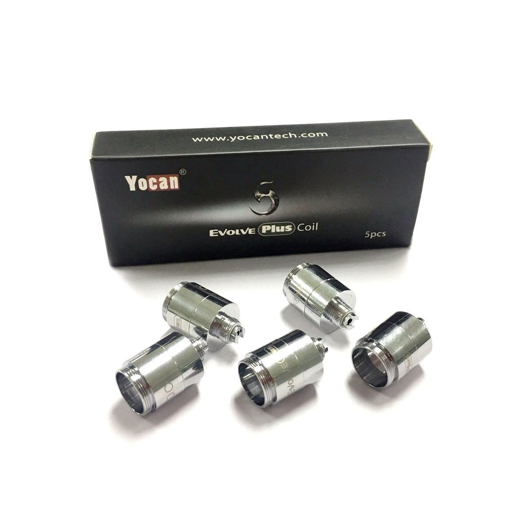 Yocan - Evolve Plus Quartz Coil | 5 Pack - AZARA VAPE