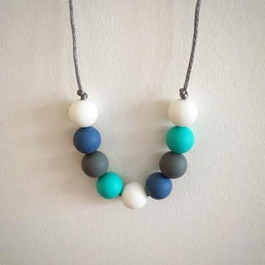 Marine Silicone Teething Necklace - Little Buds Teethers