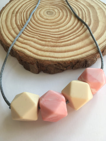 Jessie Silicone Teething Necklace