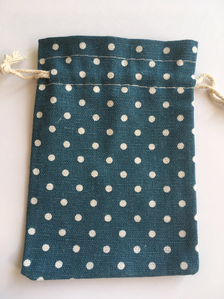 Spotty Teething Necklace Storage Bag