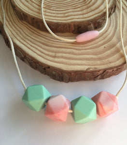 Candy Silicone Teething Necklace