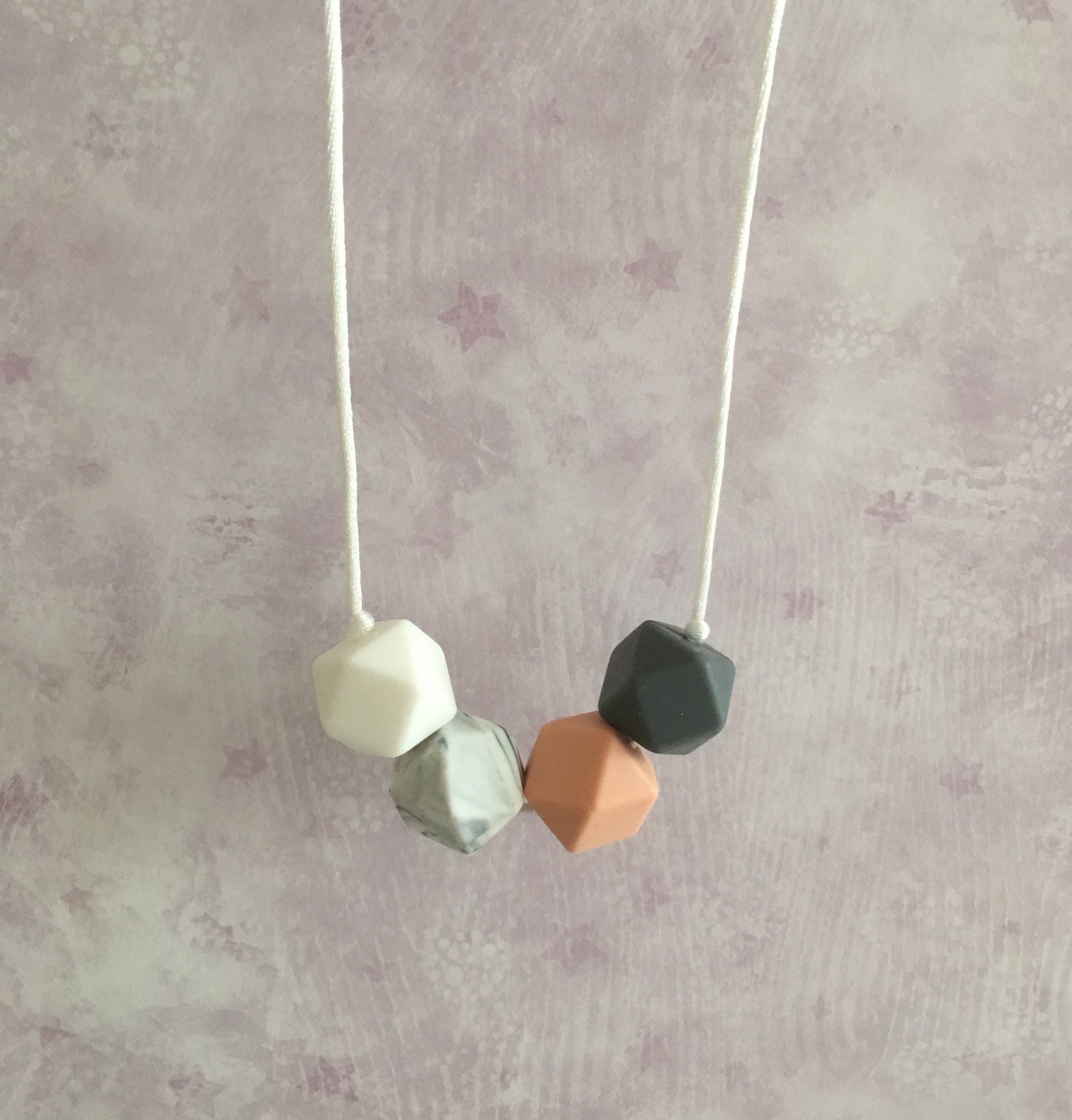 Autumn Silicone Teething Necklace - Little Buds Teethers