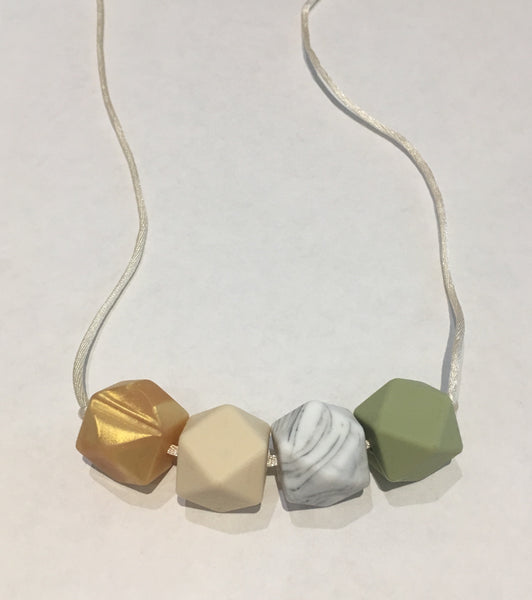 Spring Teething Necklace - Little Buds Teethers