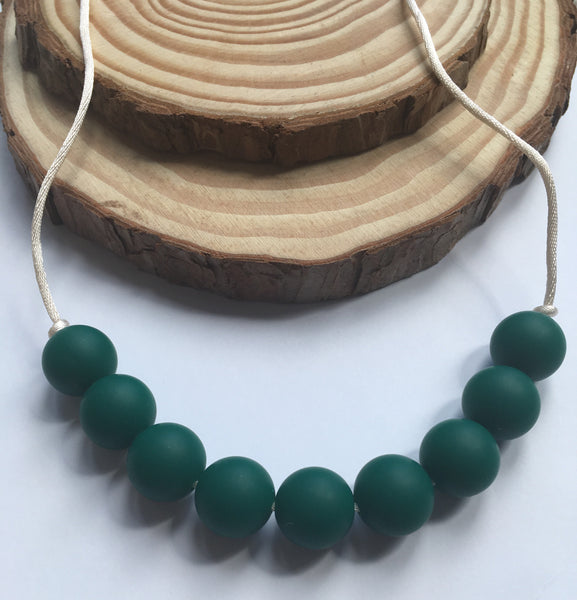 Pure Green Teething Necklace