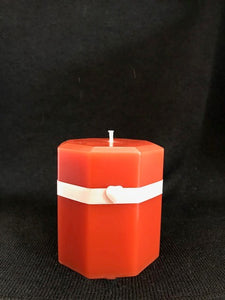 Orange Spice Scented Candle