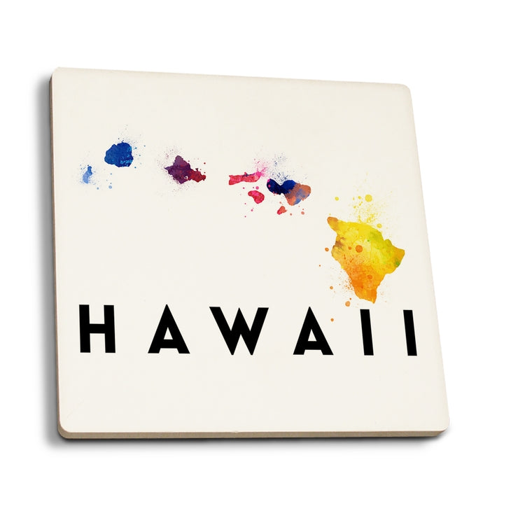 Ceramic Coaster - Hawaiian Islands