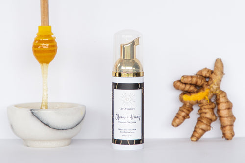 Ao Organics - 'Ōlena + Honey Foaming Cleanser