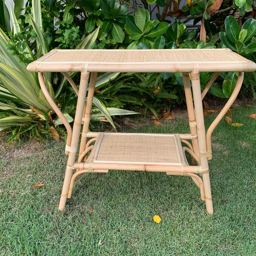 Rattan Console Table