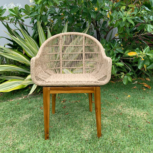 Synthetic Woven Dining Chair