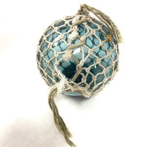 Vintage Glass Ball with Rope