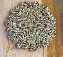 Handmade Natural Woven Placemats